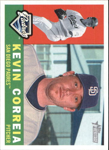 Photo of 2009 Topps Heritage #621 Kevin Correia