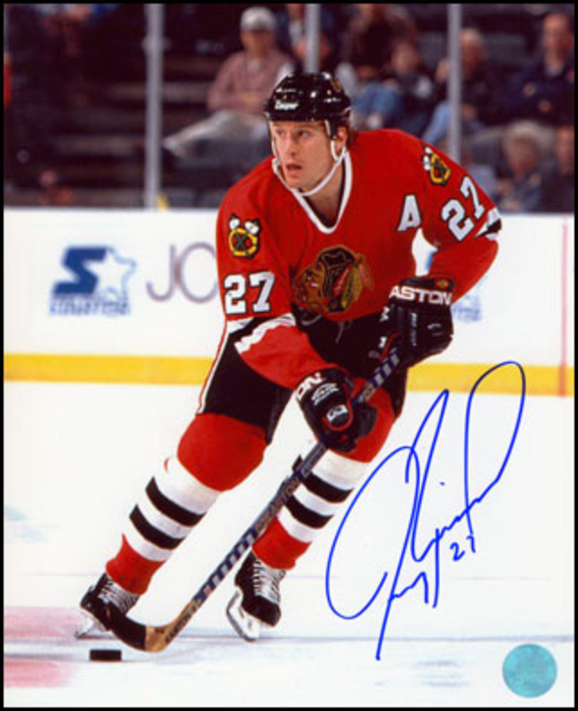 JEREMY ROENICK Chicago Blackhawks SIGNED 16x20 Photo
