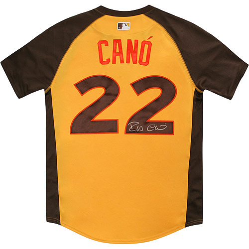 Photo of Robinson Cano 2016 Major League Baseball Workout Day/Home Run Derby Autographed Jersey