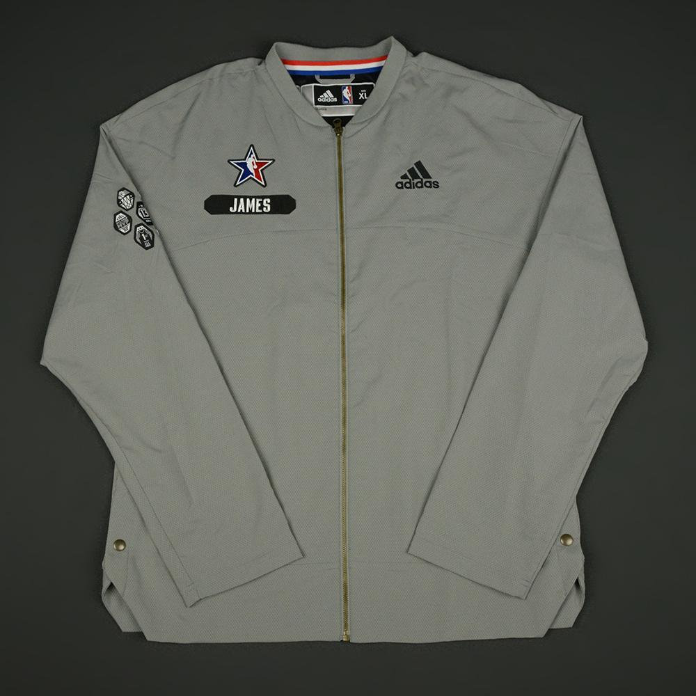 LeBron James - 2017 NBA All-Star Game - Eastern Conference - Warmup-Worn Jacket