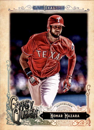 Photo of 2017 Topps Gypsy Queen #40 Nomar Mazara