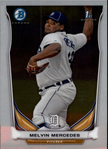Photo of 2014 Bowman Chrome Prospects #BCP68 Melvin Mercedes