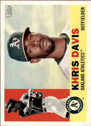 Photo of 2017 Topps Archives #30 Khris Davis