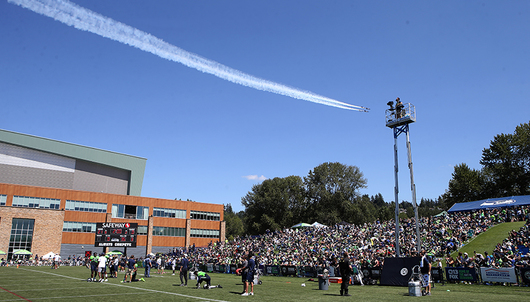SEATTLE SEAHAWKS FOOTBALL: VIP TRAINING CAMP EXPERIENCE - PACKAGE 1 of 2