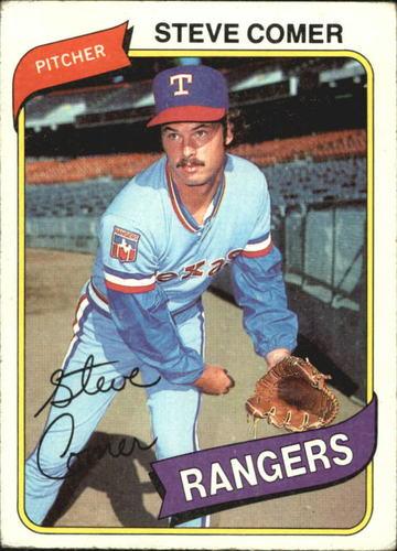 Photo of 1980 Topps #144 Steve Comer