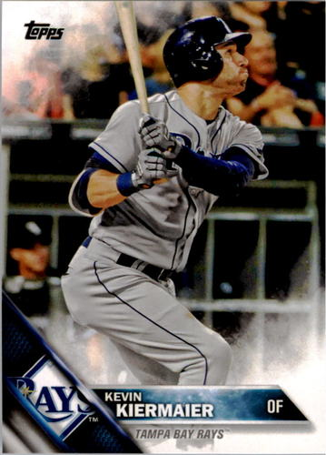 Photo of 2016 Topps #271 Kevin Kiermaier