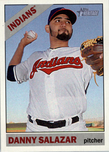 Photo of 2015 Topps Heritage #257 Danny Salazar