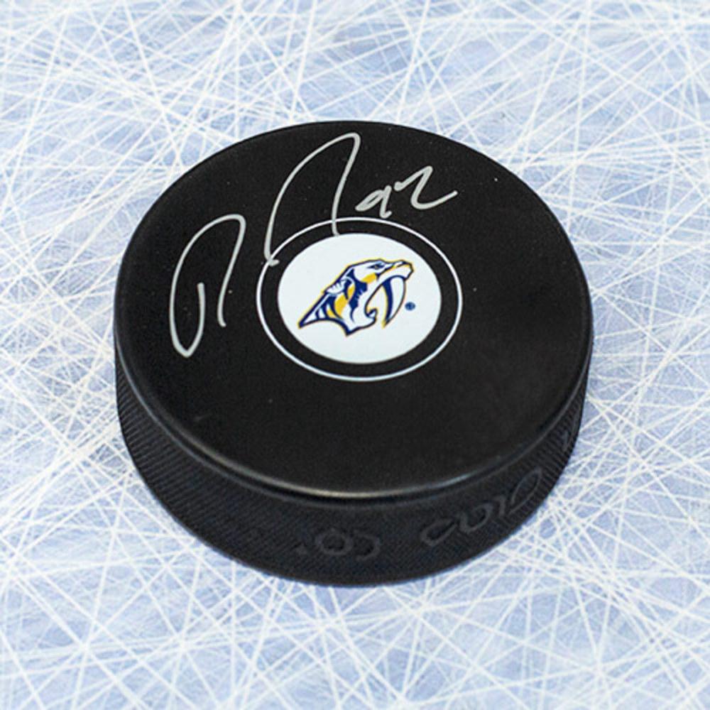 Ryan Johansen Nashville Predators Autographed Hockey Puck
