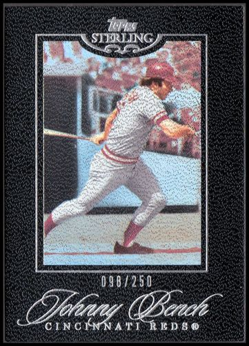 Photo of 2006 Topps Sterling #109 Johnny Bench