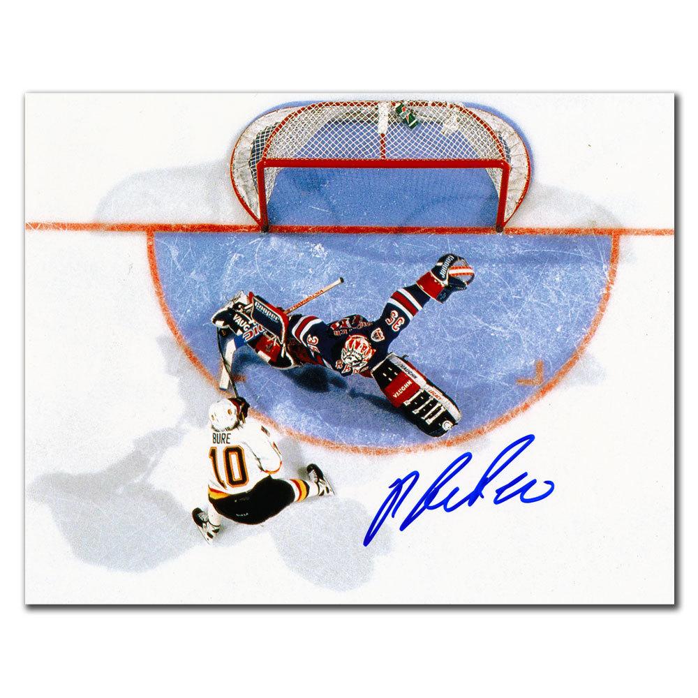 Pavel Bure Vancouver Canucks vs. Richter Autographed 8x10