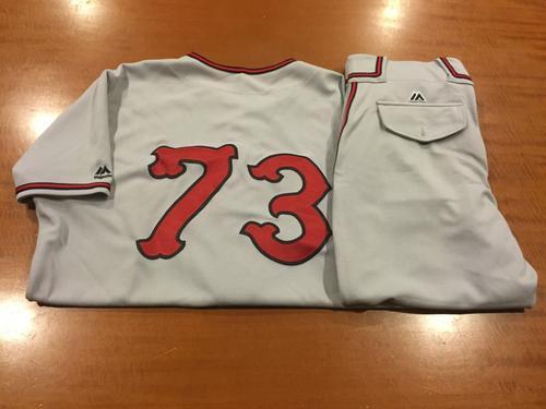 Photo of Josh Smith Game-Used Cincinnati Tigers Uniform