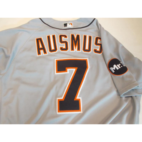 Photo of Game-Used Brad Ausmus Road Jersey