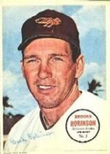 Photo of 1967 Topps Posters Inserts #3 Brooks Robinson