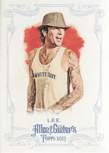Photo of 2013 Topps Allen and Ginter #140 Tommy Lee