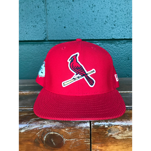 Photo of Cardinals Authentics: Seung-hwan Oh Issued Red Spring Training Cap