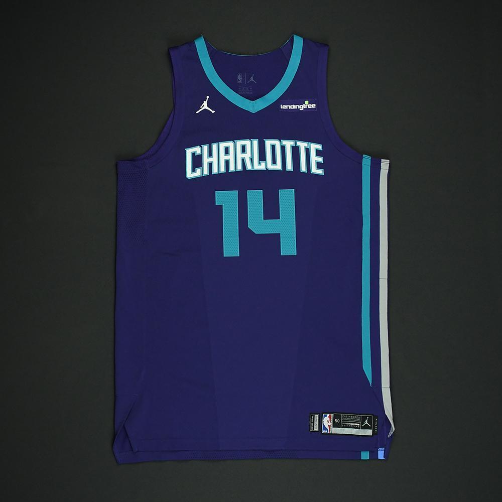 Michael Kidd-Gilchrist - Charlotte Hornets - Game-Worn 'Statement' Jersey - 2017-18 Season