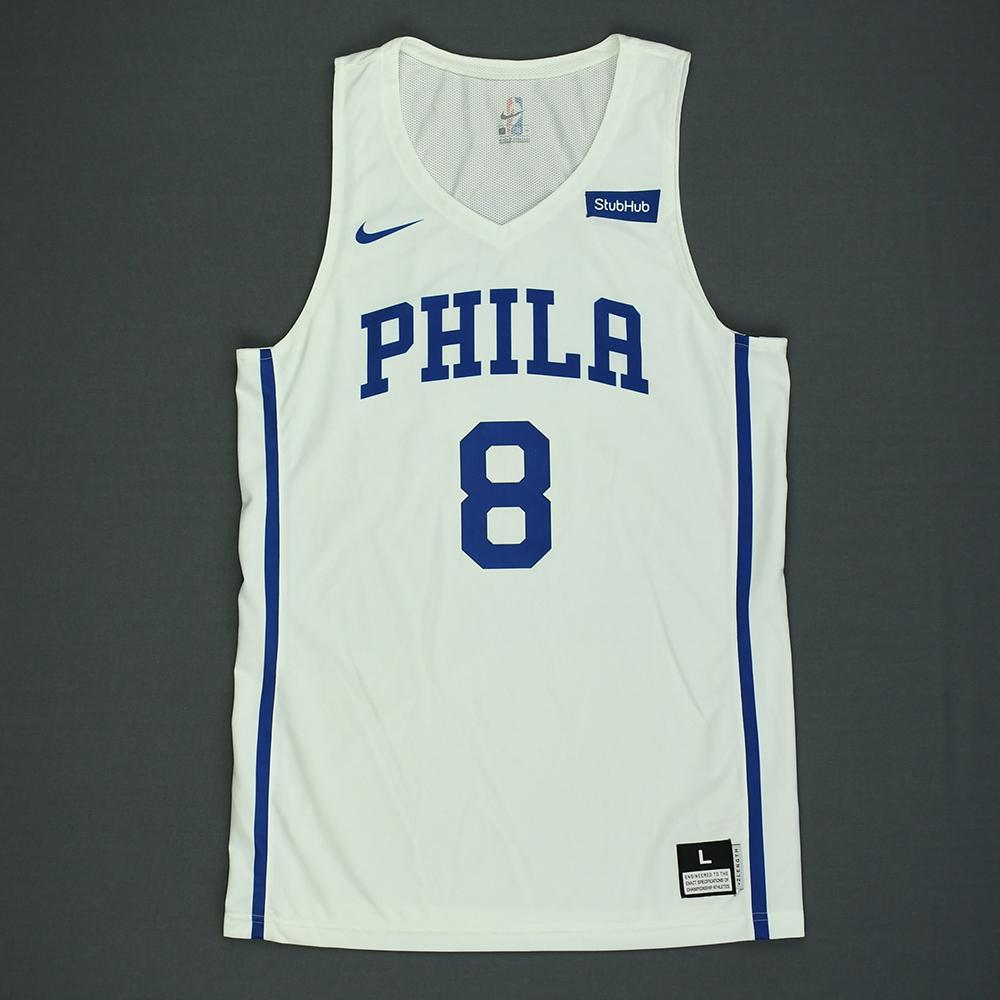Zhaire Smith - Philadelphia 76ers - 2018 NBA Summer League - Game-Worn Jersey