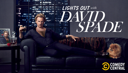 SEE LIGHTS OUT WITH DAVID SPADE IN LA (MARCH 12) - PACKAGE 1 OF 2