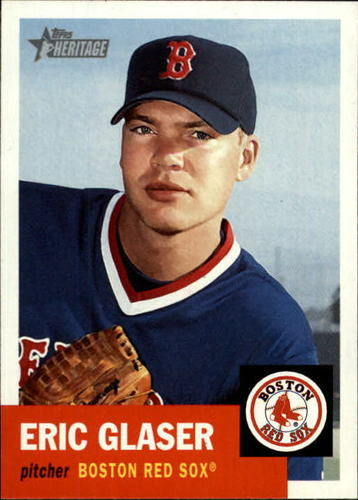 Photo of 2002 Topps Heritage #409 Eric Glaser SP RC