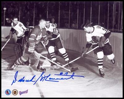 DOLLARD ST.LAURENT Chicago Blackhawks 8x10 Photo
