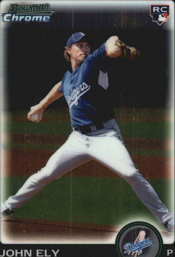 Photo of 2010 Bowman Chrome Draft #BDP17 John Ely RC