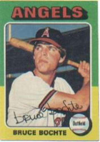 Photo of 1975 Topps #392 Bruce Bochte RC