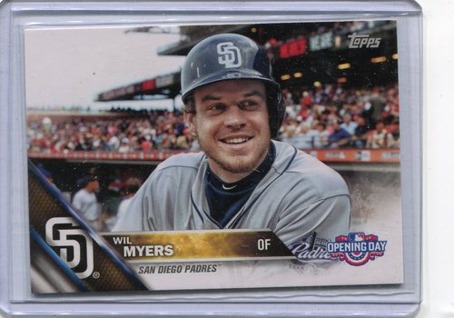 Photo of 2016 Topps Opening Day #OD120B Wil Myers SP/No bat