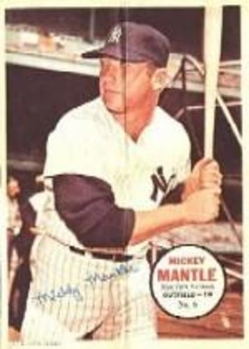 Photo of 1967 Topps Posters Inserts #6 Mickey Mantle
