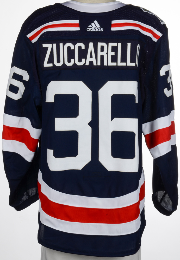 Mats Zuccarello New York Rangers Game-Worn 2018 NHL Winter Classic Jersey