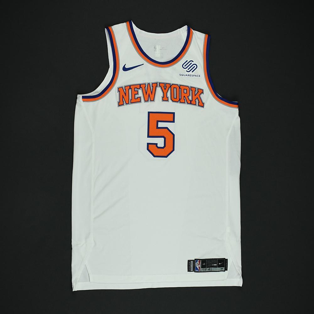 Courtney Lee - New York Knicks - NBA Christmas Day '17 Game-Worn Jersey