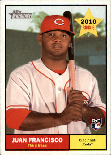 Photo of 2010 Topps Heritage #287 Juan Francisco RC