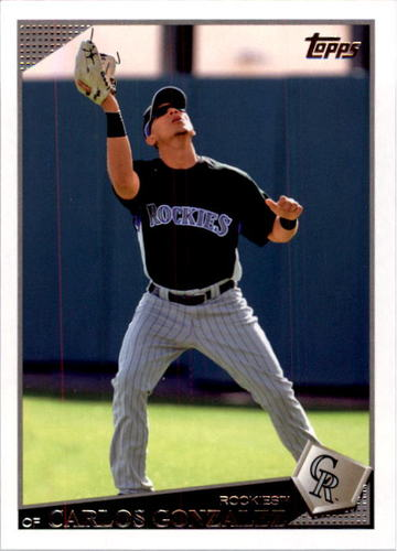Photo of 2009 Topps #503 Carlos Gonzalez
