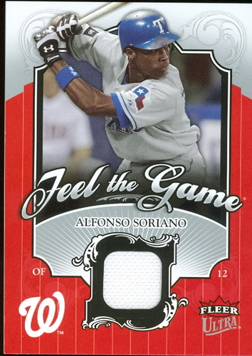 Photo of 2006 Ultra Feel the Game #AS Alfonso Soriano Jsy