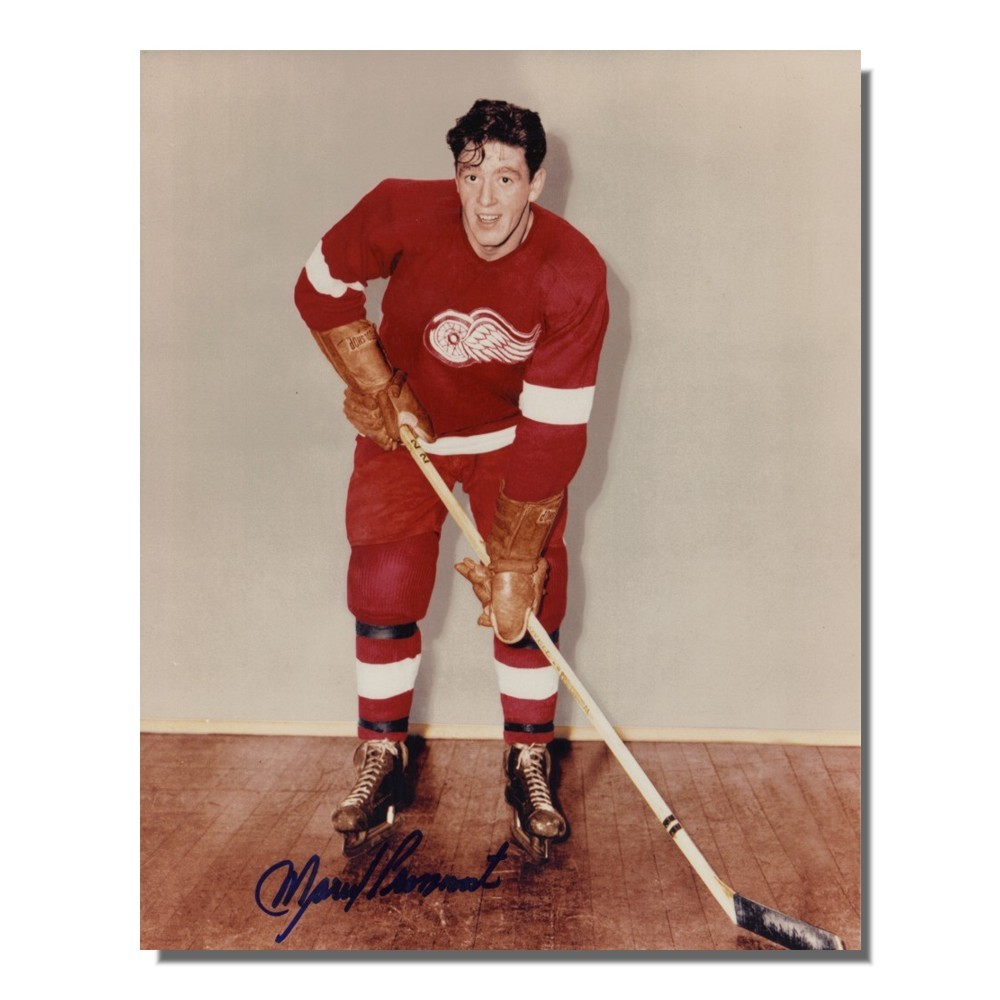 Marcel Pronovost (deceased) Autographed Detroit Red Wings 8x10 Photo