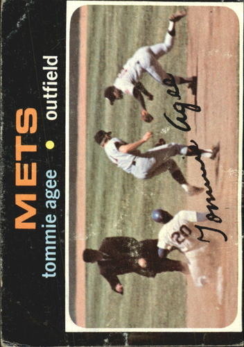 Photo of 1971 Topps #310 Tommie Agee