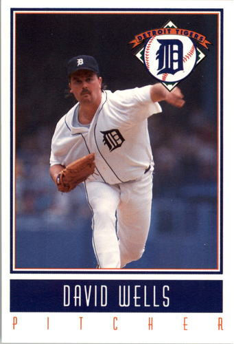 Photo of 1993 Tigers Gatorade #26 David Wells