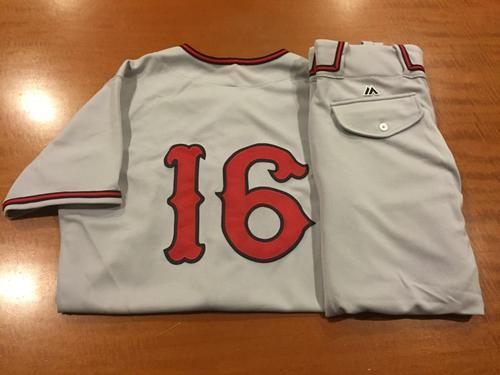 Photo of Tucker Barnhart Game-Used Cincinnati Tigers Uniform