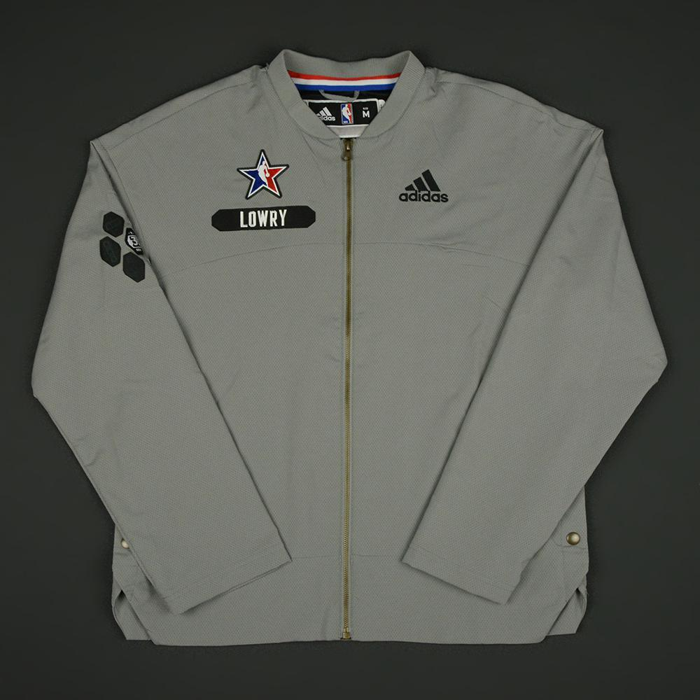 Kyle Lowry - 2017 NBA All-Star Game - Eastern Conference - Warmup-Worn Jacket