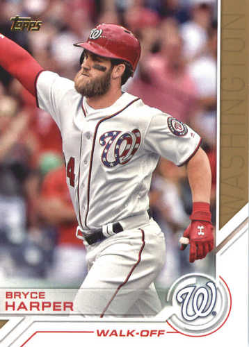 Photo of 2017 Topps Update Salute #USS30 Bryce Harper
