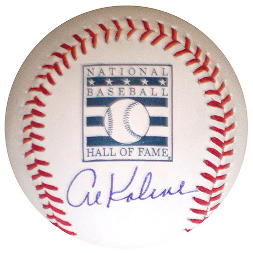 Photo of Detroit Tigers Al Kaline Autographed HOF Baseball