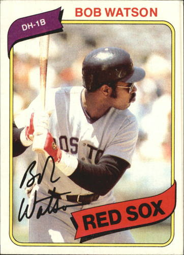 Photo of 1980 Topps #480 Bob Watson