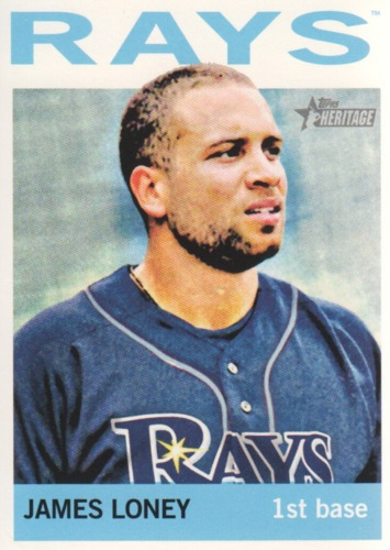 Photo of 2013 Topps Heritage #223 James Loney