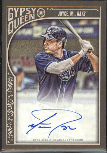 Photo of 2015 Topps Gypsy Queen Autographs #GQAMJ Matt Joyce