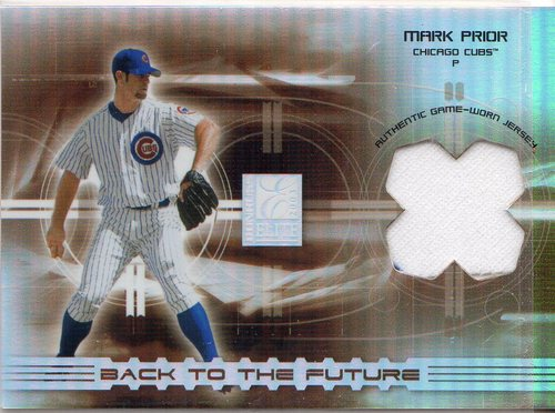 Photo of 2003 Donruss Elite Back to the Future Threads #2 Mark Prior