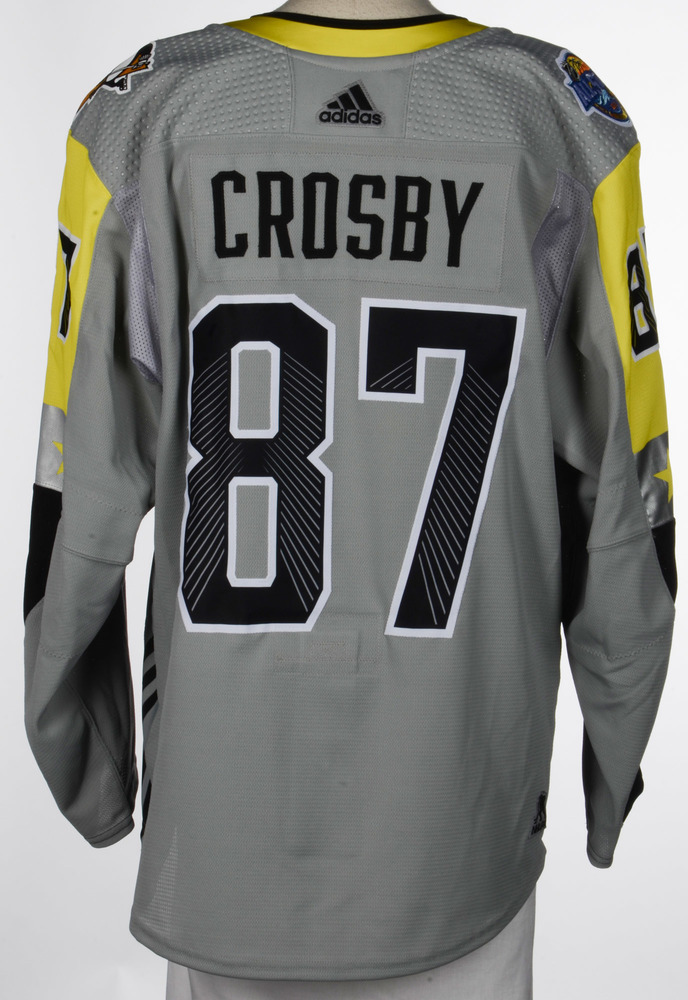 Sidney Crosby Pittsburgh Penguins Player-Issued 2018 All-Star Game Jersey
