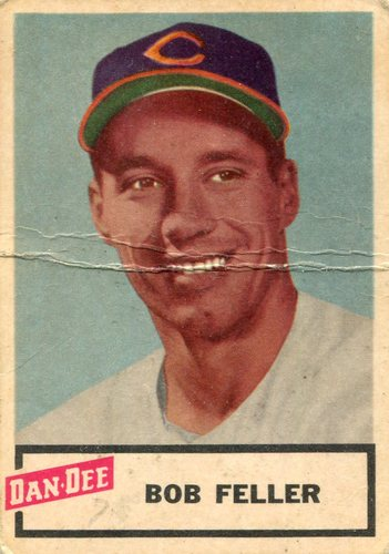 Photo of 1954 Dan-Dee #6 Bob Feller