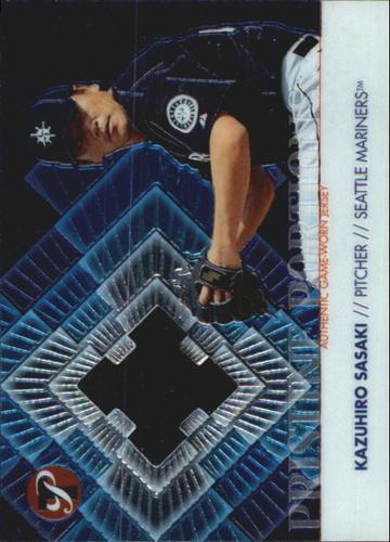 Photo of 2002 Topps Pristine Portions #KS Kazuhiro Sasaki Jsy A