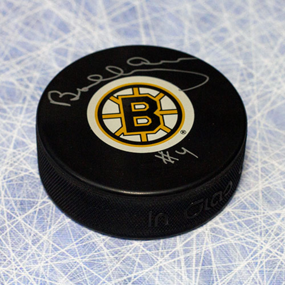 Bobby Orr Boston Bruins Autographed Hockey Puck: GNR COA