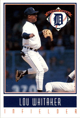 Photo of 1993 Tigers Gatorade #27 Lou Whitaker