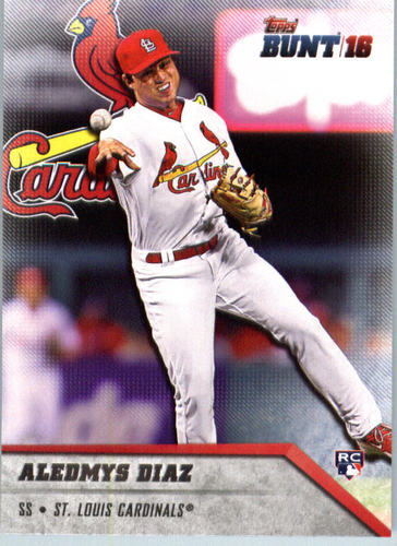 Photo of 2016 Topps Bunt #11 Aledmys Diaz -- St. Louis Cardinals rookie card